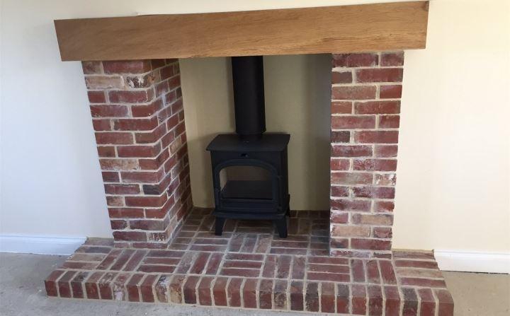 Plot 5 Fireplace