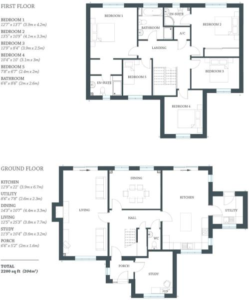 Floorplan Ashby