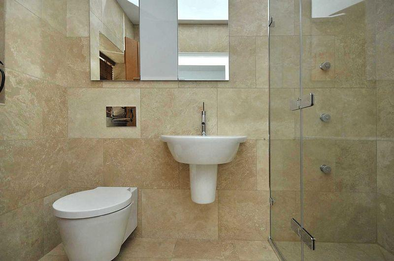 Beige wet room design ideas photos inspiration for Wet room bathroom designs