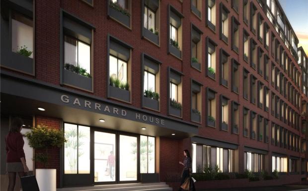Garrard House Cgi