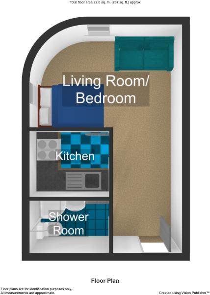 corner floor plan