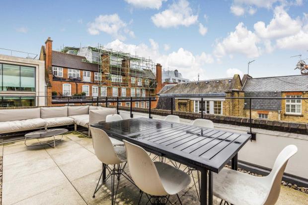 Ebury Street terrace