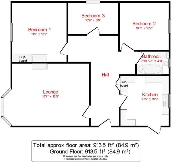 Floor plan Flat 14Pa