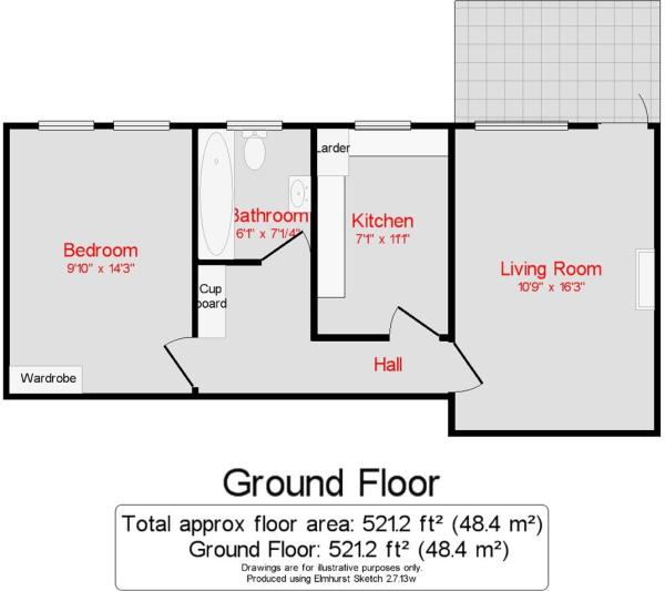 Floor plan 261,Locks