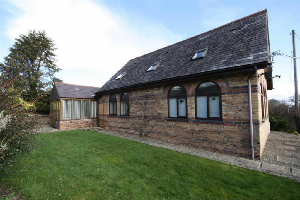 3 bedroom detached house for sale in converted chapel with for Detached garages for sale
