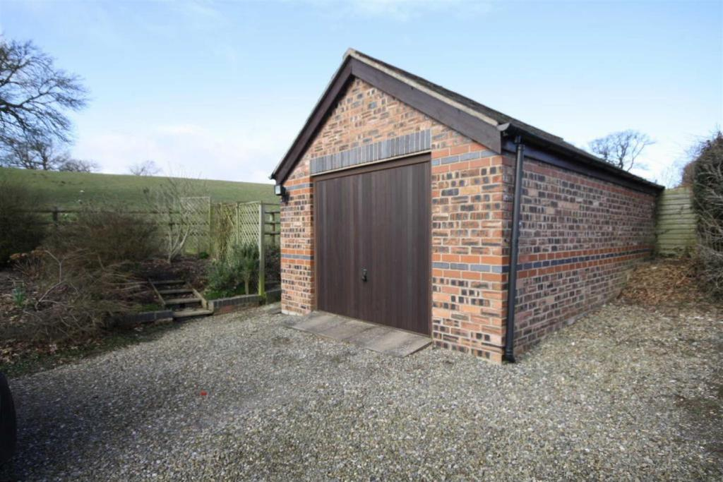 3 bedroom detached house for sale in converted chapel with for Detached garage for sale