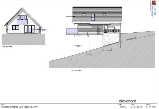 PROPOSED DWELLING EL