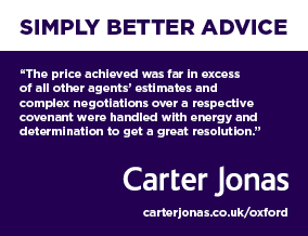 Get brand editions for Carter Jonas, Oxford