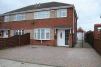 semi detached home for sale in Sanctuary Way, Grimsby