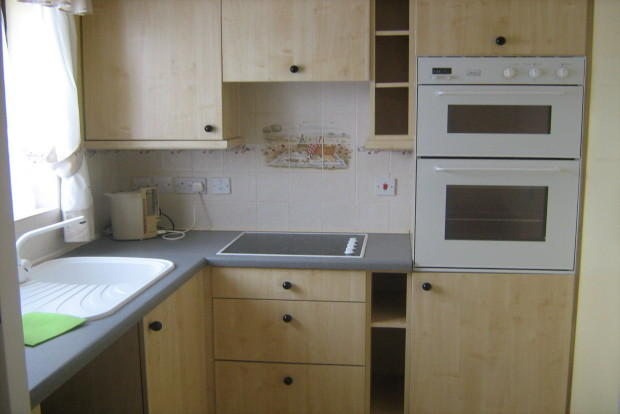 View of fitted kitchen.
