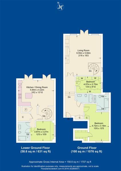 floor plan 2 The Sta