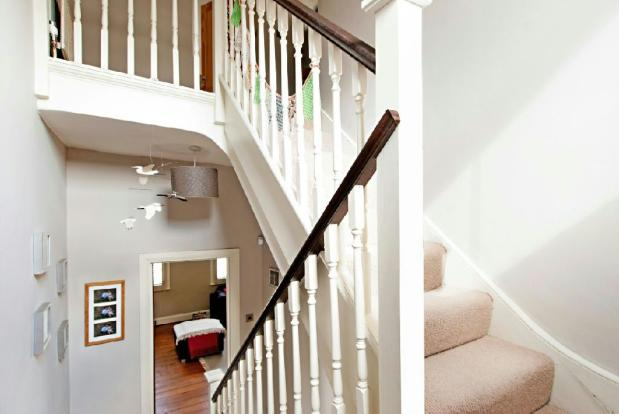Staircase view 1
