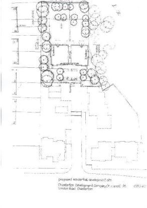 Rear Site Plan