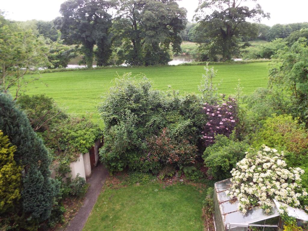 Rear Garden and View