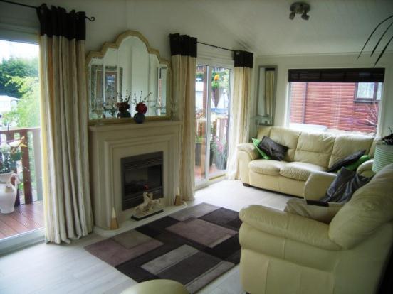 2 bedroom mobile home for sale in castle view caravan park for Castle modular homes