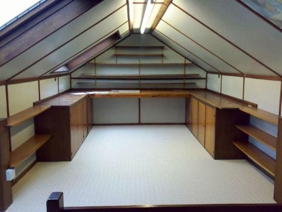 Loft Used As Office