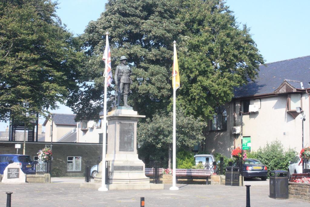 Carnforth memorial