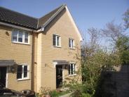 3 bedroom End of Terrace house in Heron Road, Saxmundham...