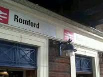 Romford train statio