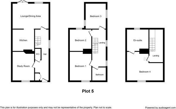 Floor Plan - Plot 5