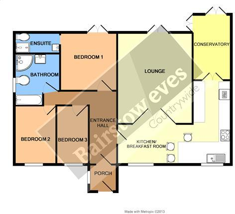 3 bedroom bungalow for sale in ramsden view road wickford for What is wic in a floor plan