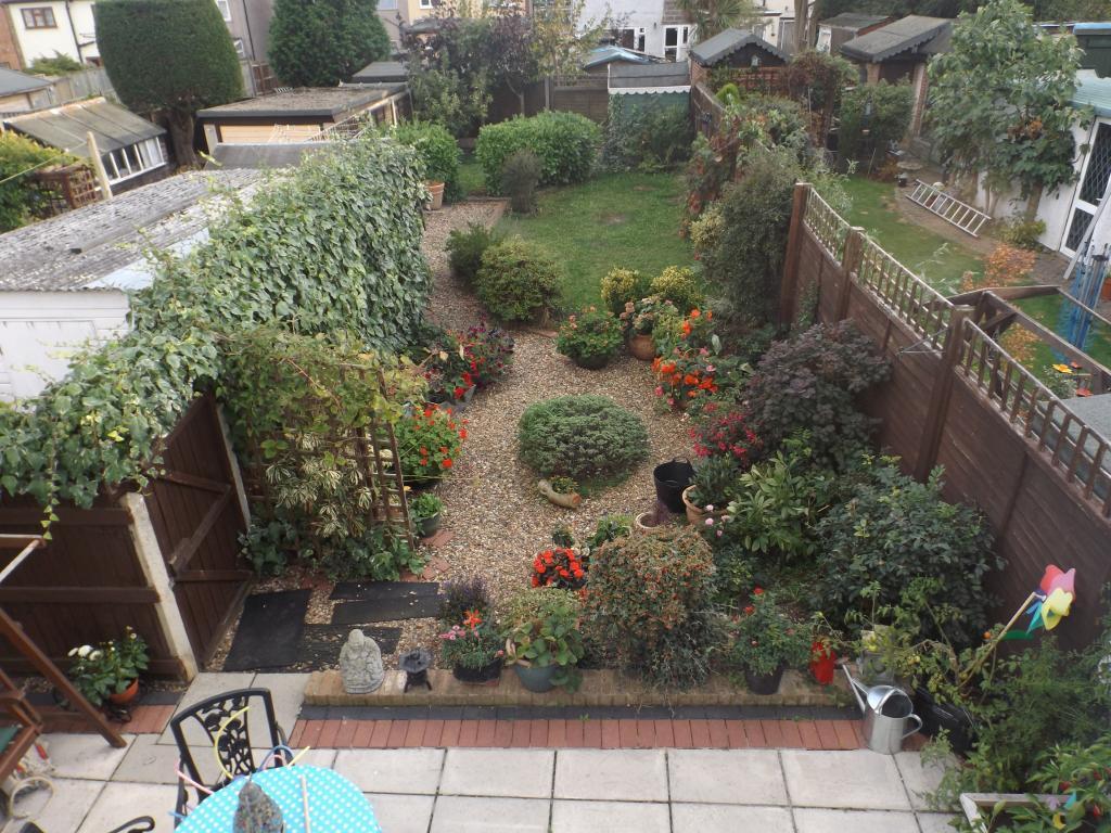 Over view of garden