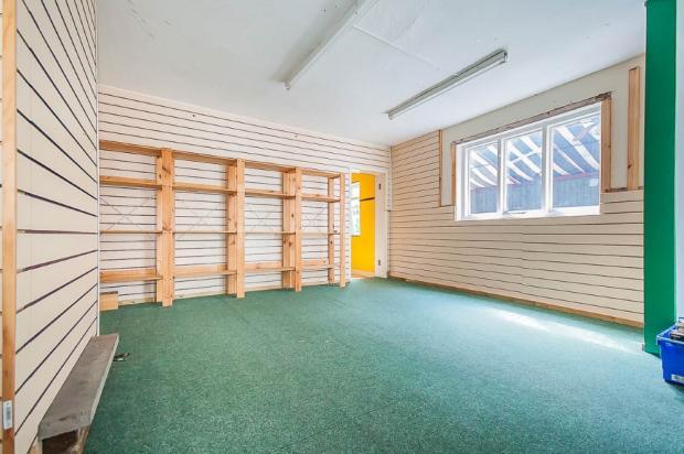 Secondary Shop Area