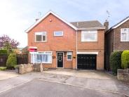 Detached home for sale in Bamkin Close, Hucknall...