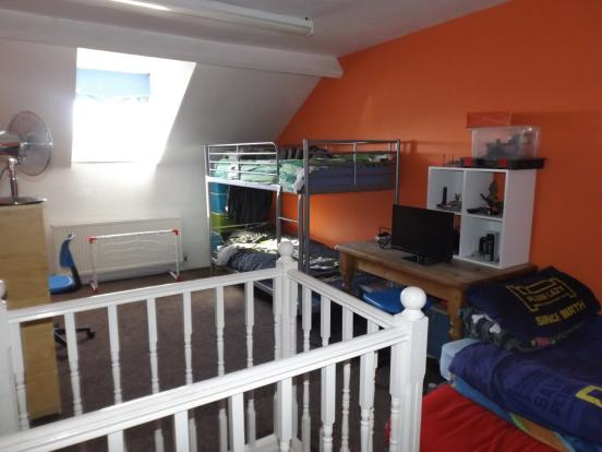 Bedroom Three/ Attic
