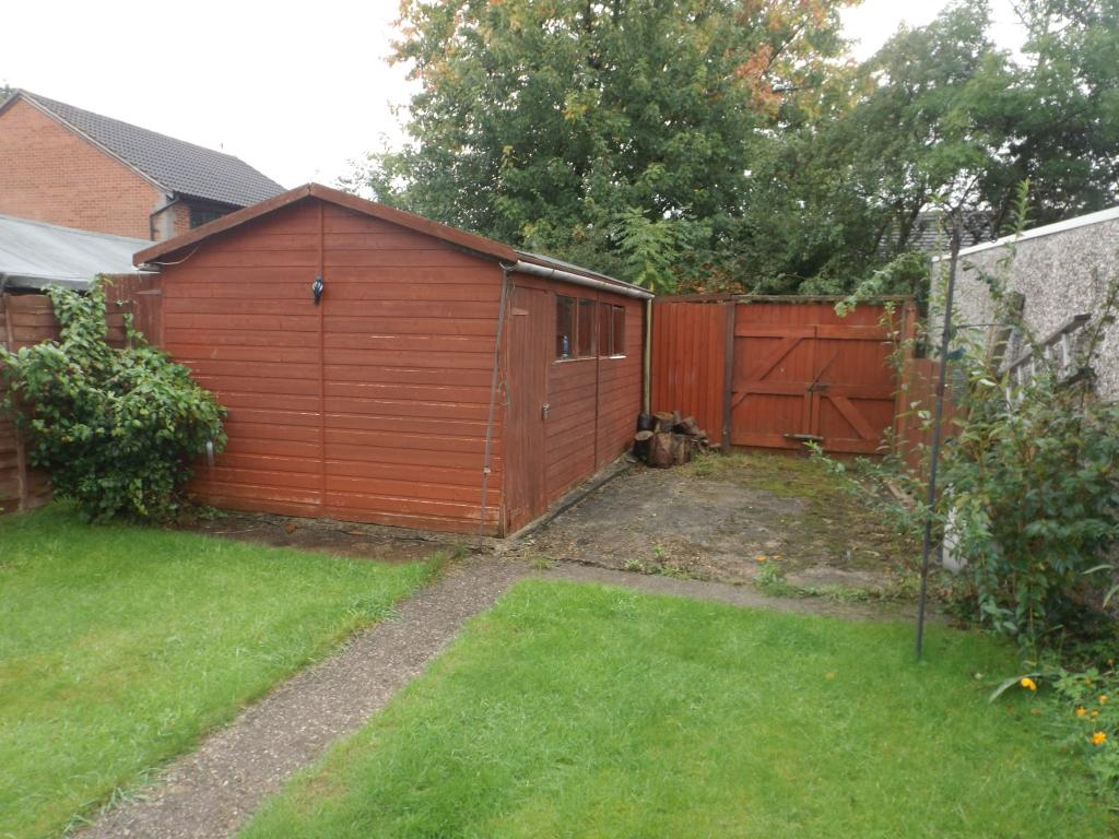 Timber garage and of