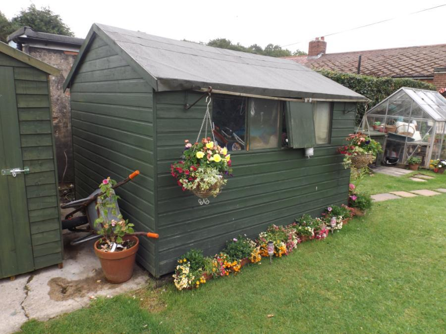 Sheds and Greenhouse