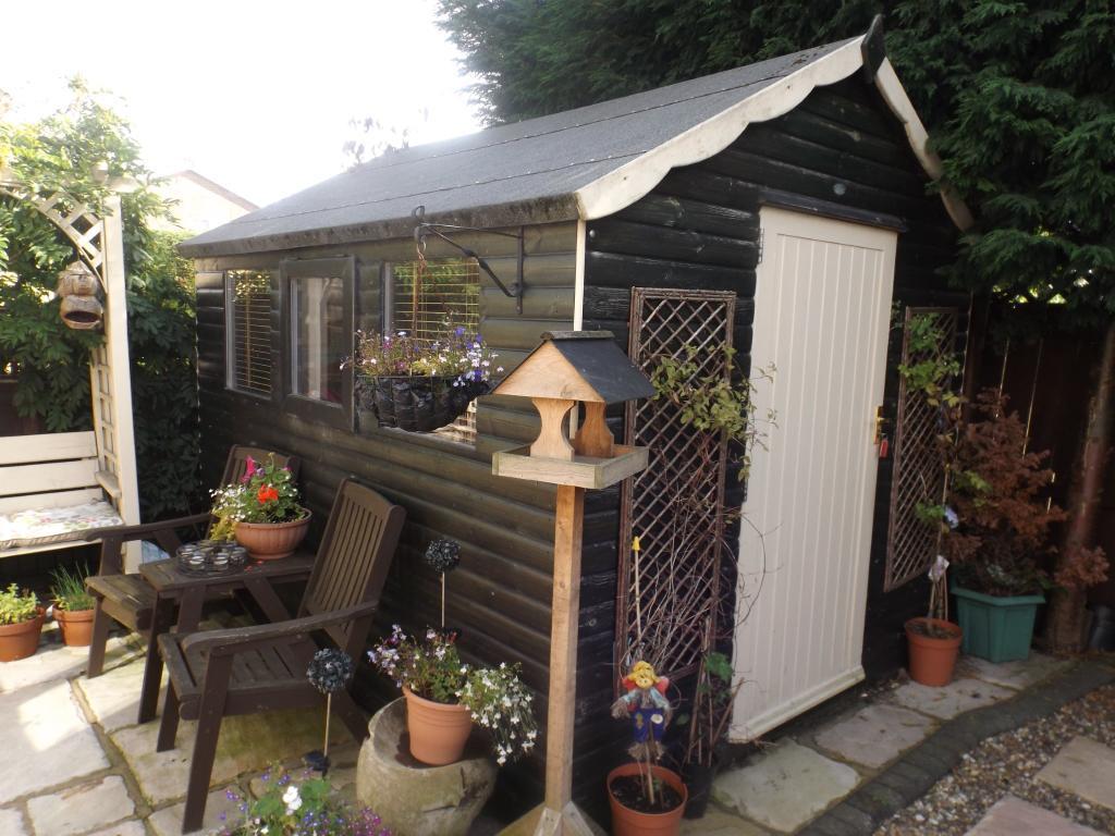 Wood Garden Room