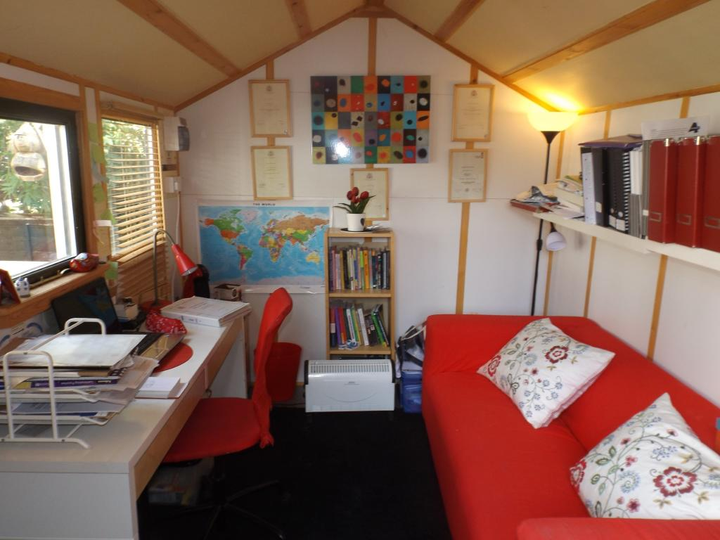 Shed/ Study Area