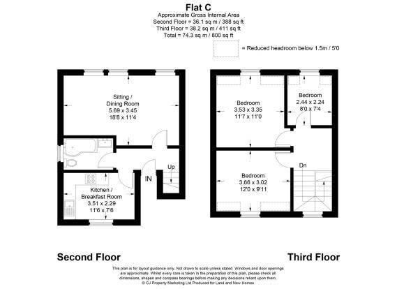 Upper Floorplan