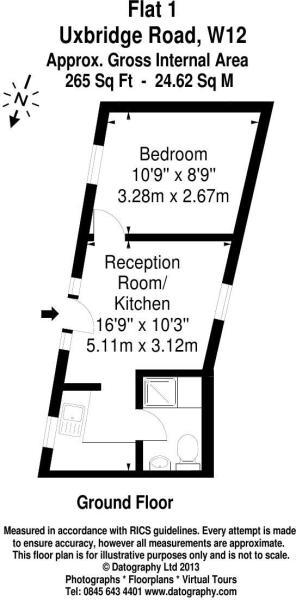 Flat 1 - Floor Plan