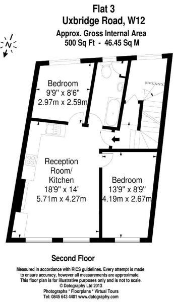 Flat - 3 Floorplan