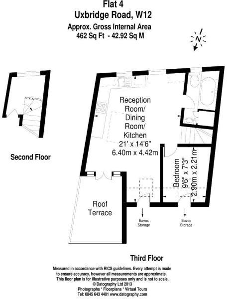 Flat 4 - Floorplan
