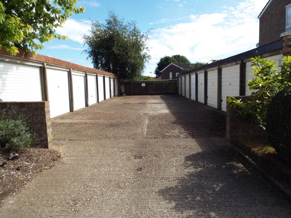 View of garage block