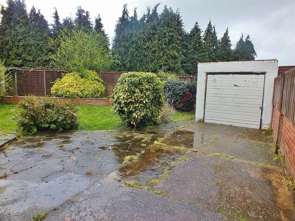 Rear Garden/Driveway/Garage