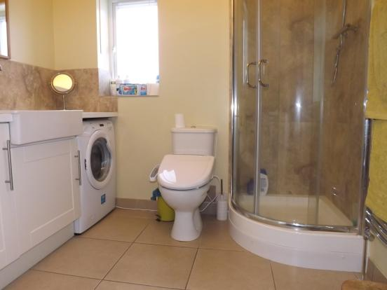 Shower room/ Utility