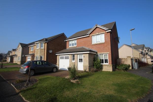 3 bedroom detached house for sale in cambridge crescent crystal park airdrie ml6 for 3 bedroom house for sale in cambridge