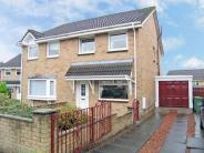semi detached property in Bredisholm Drive...
