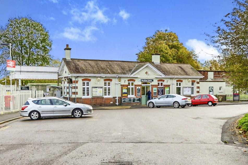 Merstham station on
