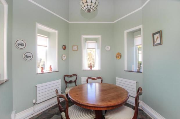 Turret Dining Room