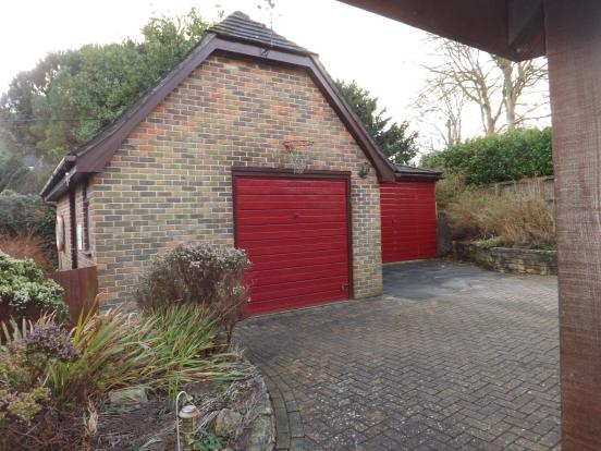 Garage and store