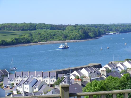 Views to Plas Newydd