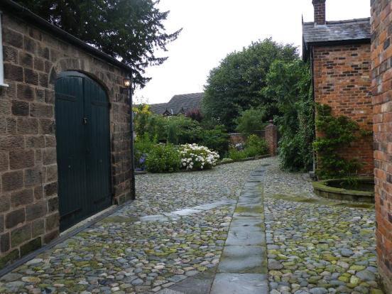 Rear Drive & Garden