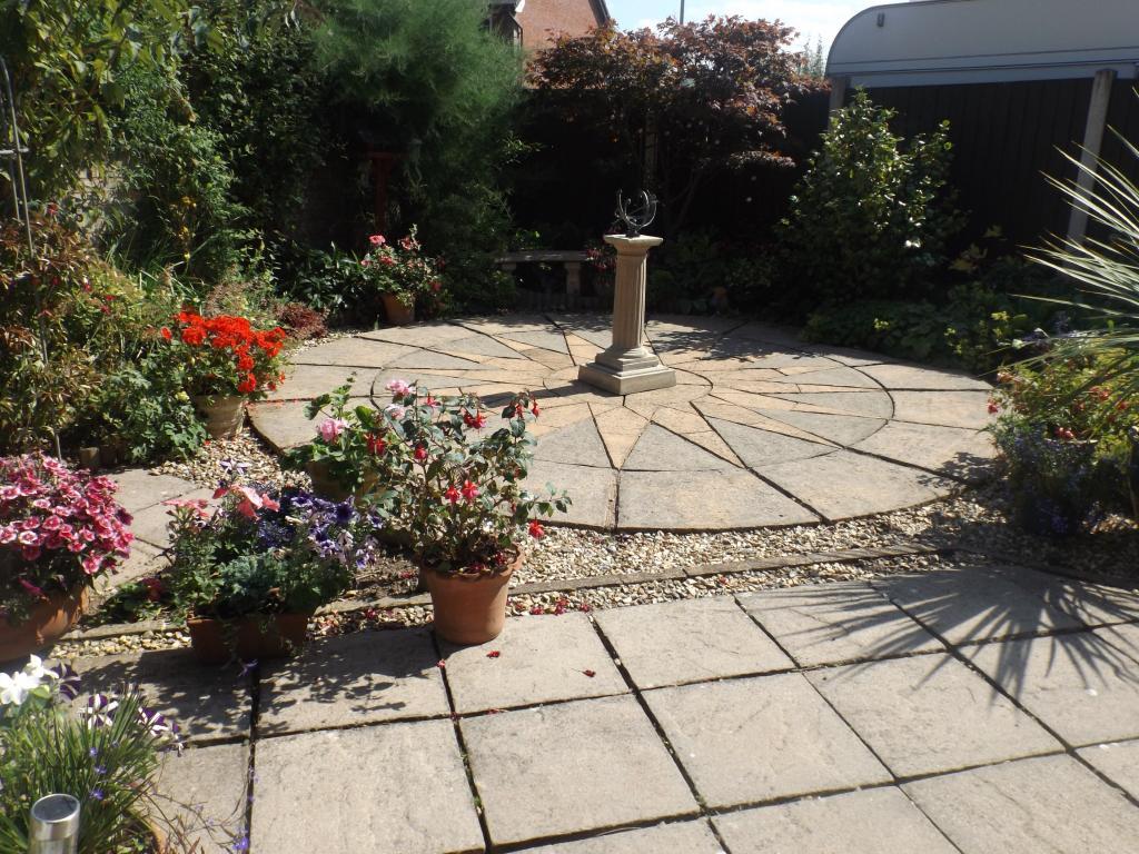 Rear Garden Patio Ar