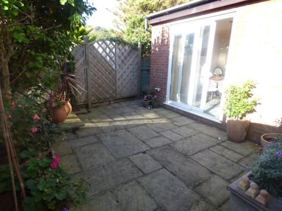 Rear Garden Patio Ar