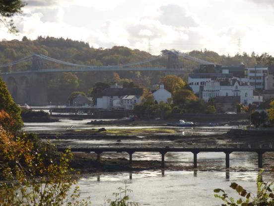 View to Menai Bridge